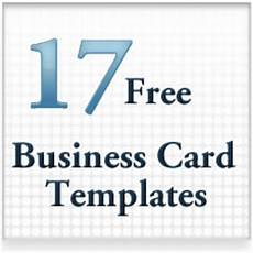 17 free business card templates by psd graphics