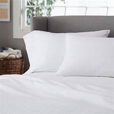 1 white hotel sheet t250 percale 1 flat 1 fitted 2 pillowcases marriott ebay