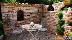 sichtschutz mauer garten ruinen selber bauen die sch 246 nsten gestaltungs ideen