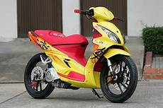 Skywave Modif by Motorcycles Modified Suzuki Skywave 125 Cc