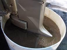 Excessive Oil From Outboard Exhaust   fiberglassics 174 1956 5 5 evinrude excess oil fiberglassics 174 forums