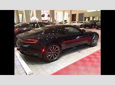 Aston Martin DB11 black 2017 exhaust sound   YouTube