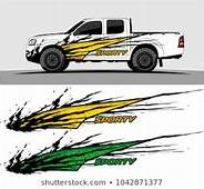 Truck Graphic Background Kit Vector  Car Show Designs