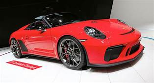 Porsche Is Putting The New 911 Speedster Into Production
