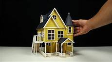 how to build a popsicle stick house youtube