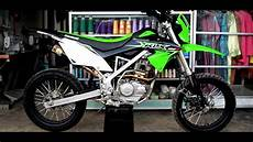 Modifikasi Supermoto by Modifikasi Klx Bf Menjadi Supermoto