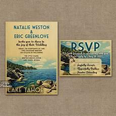 Lake Tahoe Wedding Invitations lake tahoe wedding invitations vtw nifty printables