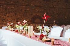 deco anniversaire vintage mariage guinguette vichy moulin en papier