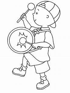 caillou coloring pages free printable caillou coloring pages