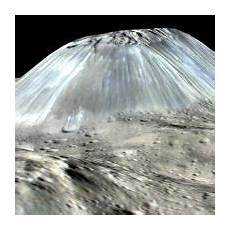 Ceres Viel Gefrorenes Wasser Und Eisvulkane