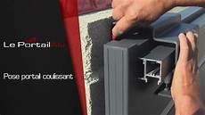 installation d un portail coulissant comment poser un portail coulissant leportailalu fr