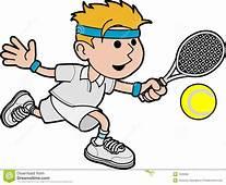 Illustration Tennis Player Stock Photos  Image 7005693