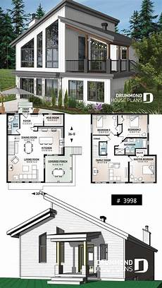 contemporary house plans with walkout basement discover the plan 3998 malbaie which will please you for