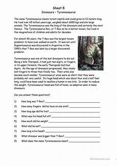 free dinosaur worksheets for grade 15398 dinosaurs worksheet free esl printable worksheets made by teachers dinosaur worksheets free