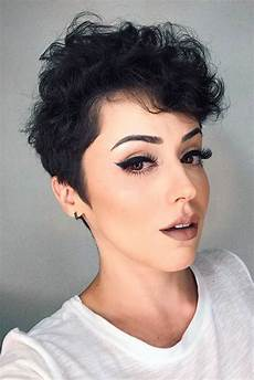 natural curly short hairstyles for pretty short