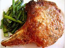 parmesan sage baked pork chops_image