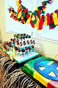 check out photos from site for ideas rasta party