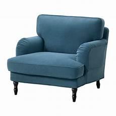 stocksund fauteuil ljungen bleu noir ikea