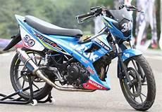 Satria Fu Modif Road Race Harian by 2019 Modifikasi Satria Fu Terkeren Dan Terbaru Cocok Untuk