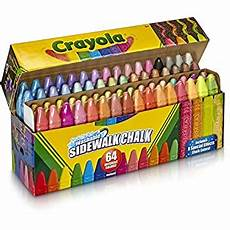 Amazon Com Chalk City Sidewalk Chalk 20 Count Amazon Com Toysmith Jumbo Sidewalk Chalk 20 Chalks