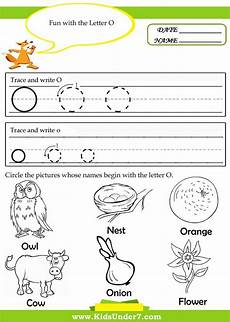 kindergarten worksheets for the letter o search teaching alphabet tracing alphabet