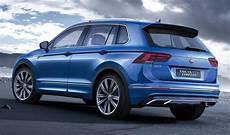 2019 vw tiguan facelift rumors changes interior colors
