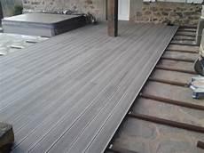 composite pour terrasse ma terrasse avec une finition en lame de terrasse composite