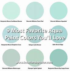 9 most favorite aqua paint colors you ll love turquoise interior design ideas aqua paint