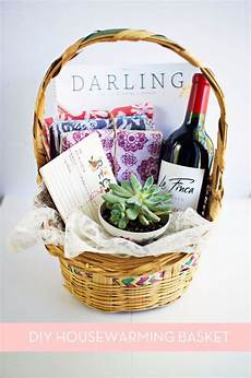 Home Decor Gift Basket Ideas by How To Make The Diy Housewarming Basket Gifty