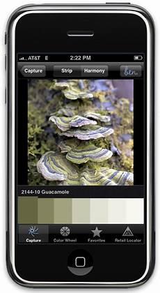 benjamin launches color paint matching iphone app ben color capture popsugar tech