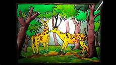 beautiful glass painting design