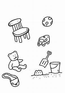 Malvorlagen Zum Drucken Spielen Kostenlose Malvorlage Rund Ums Spielen Spielsachen Zum
