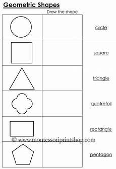 different shapes worksheets 1086 worksheets for geometric shapes black line masters for 12 geometric shapes montessori