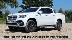 mercedes x klasse v6 2018 mercedes x350d 4matic x klasse mit v6 diesel