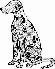 mandala hund dalmatiner ausmalbilder hunde