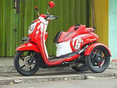 Motor Scoopy Modif by Modifikasi Jok Motor Jok Motor Honda Scoopy Fi Model