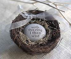 wedding ring bearer nest with this ring i thee wed
