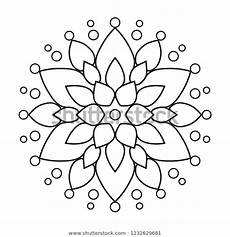 mandala coloring pages beginner 17872 easy mandala coloring page beginners mandalas stock illustration 1232629681