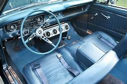 Caspian Blue 1965 Ford Mustang Convertible