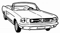 Malvorlagen Cars Steel Mustang Lowrider Coloring Pages Mustangs