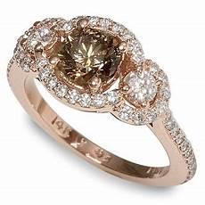 prepare wedding chocolate diamond engagement rings