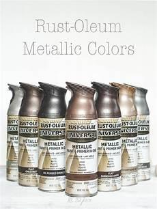 rust oleum metallic spray paints metallic spray paint spray painting and rust