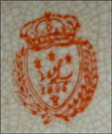 porzellanmarke n mit krone william lowe nouveau collection wong