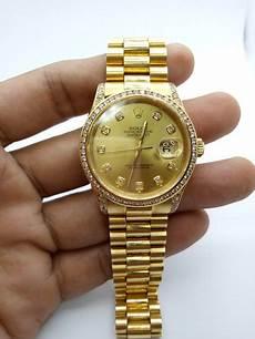 jual jam tangan rolex oyster perpetual datejust 16238 18k