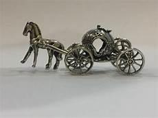 cenerentola carrozza carrozza di cenerentola miniatura in argento italia 20