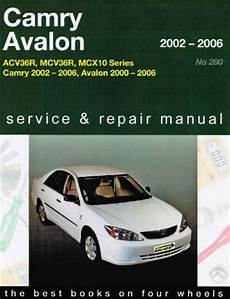 car service manuals pdf 2006 toyota avalon electronic valve timing toyota camry avalon 2002 2006 gregorys service repair manual sagin workshop car manuals repair