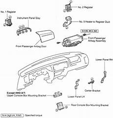 airbag deployment 2001 toyota 4runner parking system repair guides