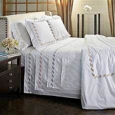 scroll embroidery 300 thread count cotton percale sheet contemporary sheet and