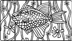 Malvorlage Fisch Mit Schuppen Fisch Mit Vielen Schuppen Ausmalbild Malvorlage Tiere