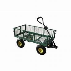 chariot de jardin grillagee 4 roues gonflables fauroux